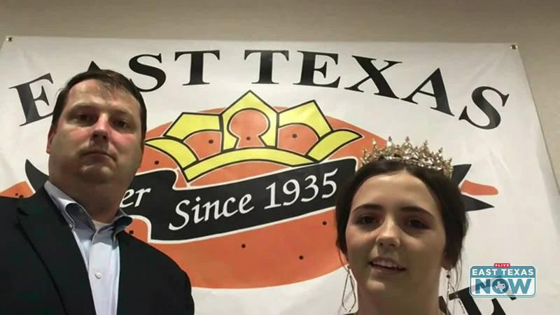 East Texas Yamboree President Joel Murry and Yamboree Queen Hannah Henson spoke with ETN's...