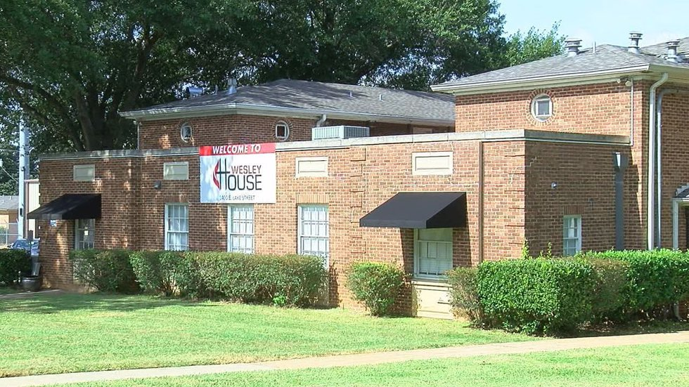 The Wesley House occupies TJC's former West and Lewis halls. (Source: KLTV staff)