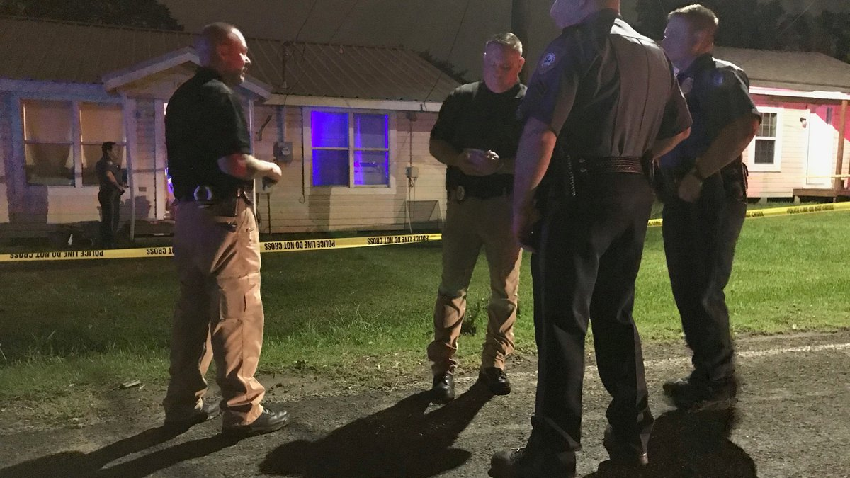 The shooting happened on Ford Chapel Road.
