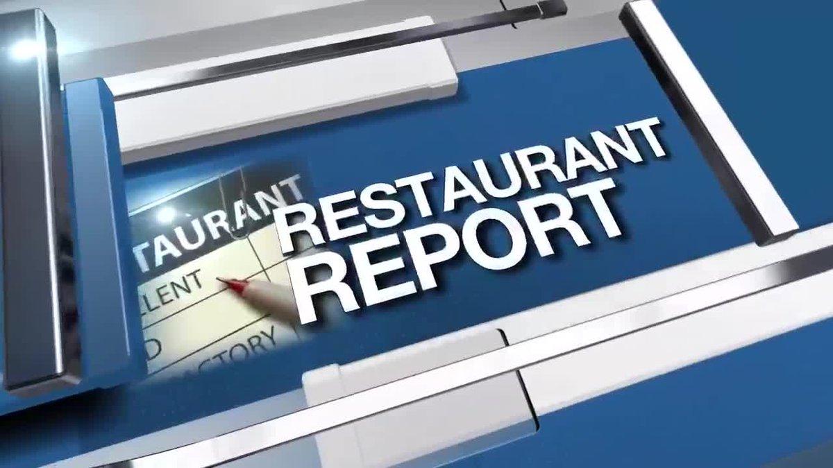 Restaurant Report 11/14/19
