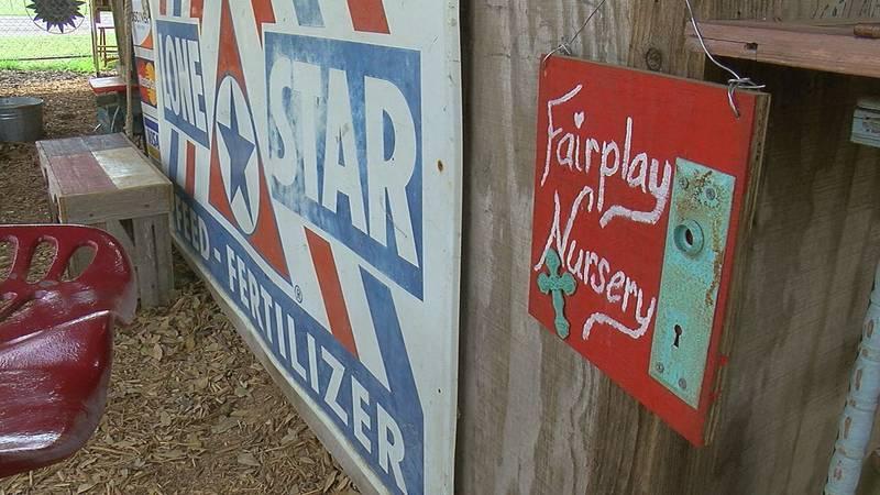 The Fairplay Nursery is located on U.S. 79, west of Carthage.