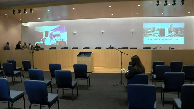 City of Lubbock Citizen's Tower Council Chamber