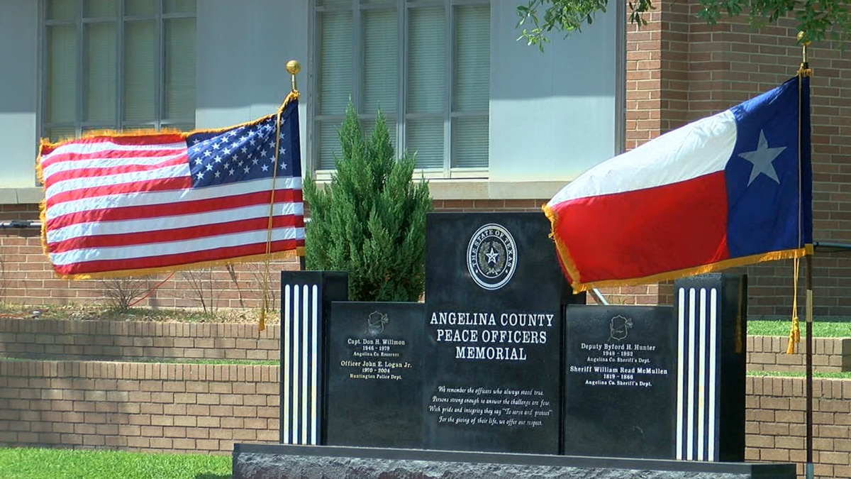 Law enforcement agencies and community members across Angelina County gathered at the...