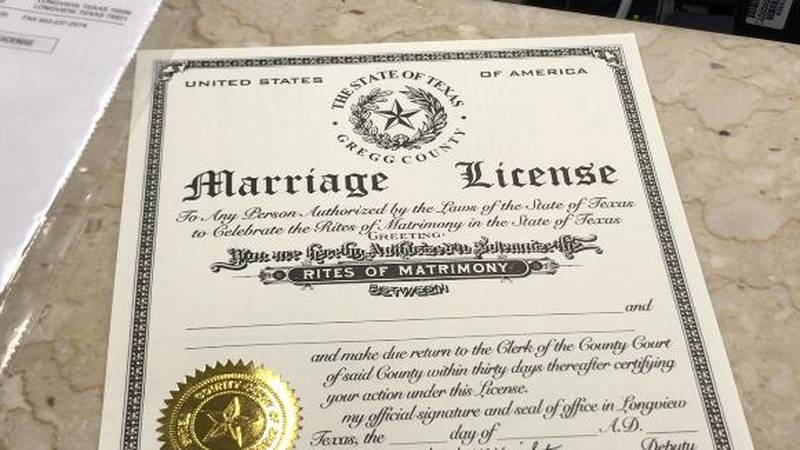 The Next Normal: Getting a marriage license