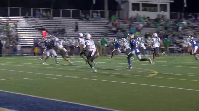 WATCH: Chapel Hill's Solomon Macfoy  takes the ball around the outside for a TD