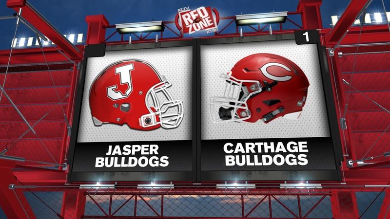 Jasper vs Carthage Week 8