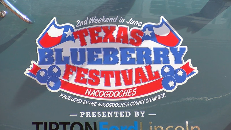 The Second Saturday in June in Nacogdoches means the Texas Blueberry Festival is back, after it...