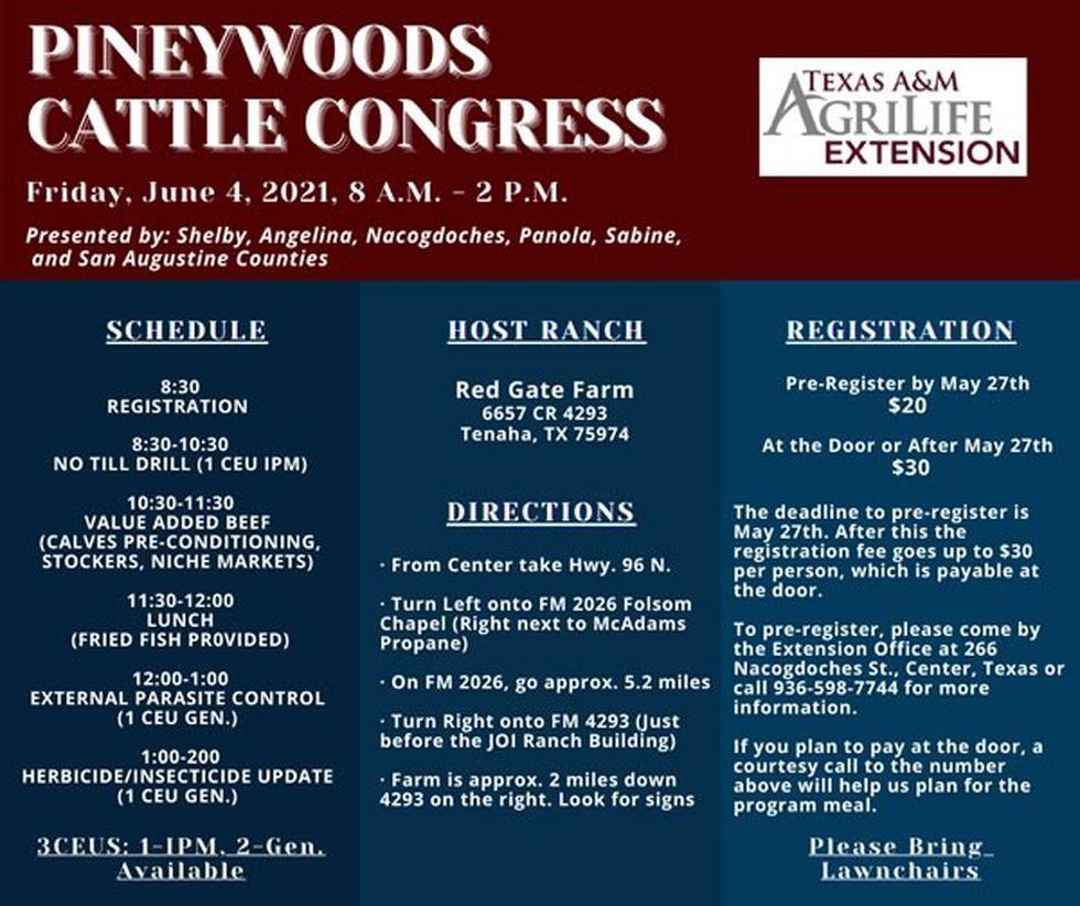 Pineywoods Cattle Congress