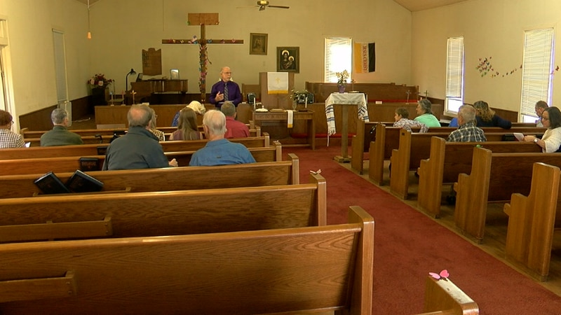 A joyful noise filled Concord Methodist Church this Easter morning, a few miles up the road...