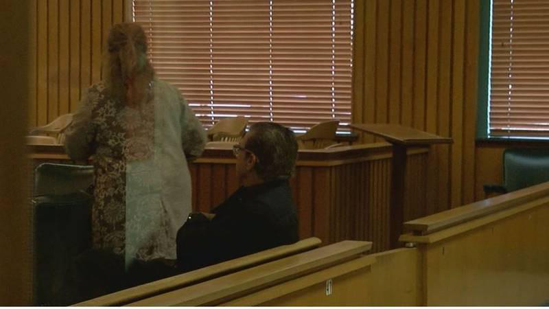David Stua looks on during his recusal hearing. (Source: KTRE Staff)