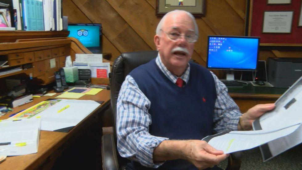 Nacogdoches criminal defense attorney Tim James holds Supreme Court ruling that warns...