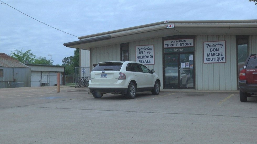 Four employees run the store on E. Tyler Street in Athens. (Source: KLTV staff)