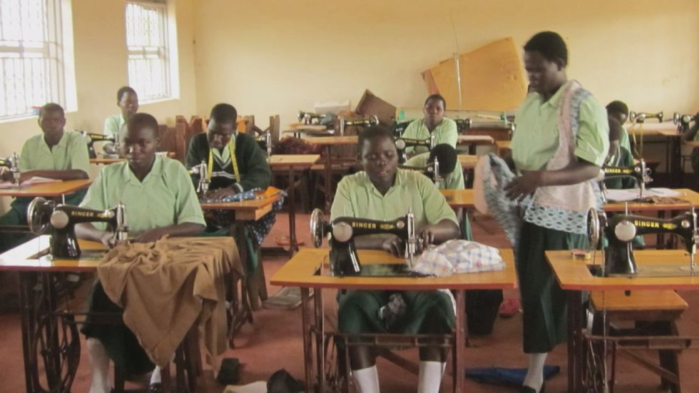 More than 2,000 girls have received care and support through Sister Rosemary's school.