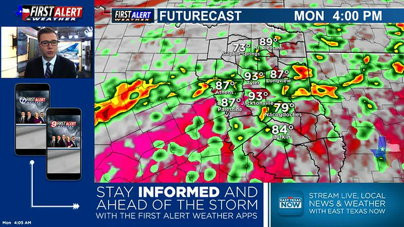 Monday Morning Weather At Your Fingertips 6-21-21