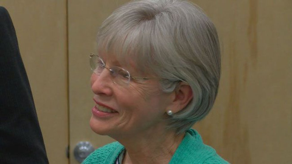 Brenda Dunn was named Social Worker of the Year. (Source: KTRE Staff)