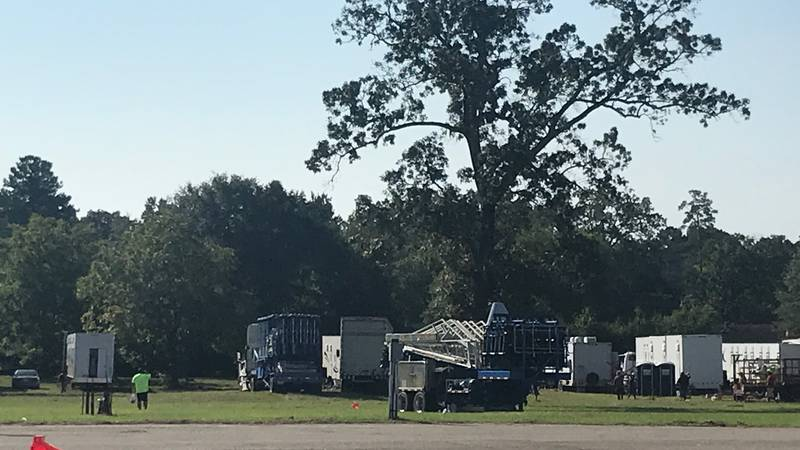 Organizers were busy Wednesday afternoon helping set up the 58th annual Veteran of Foreign Wars...