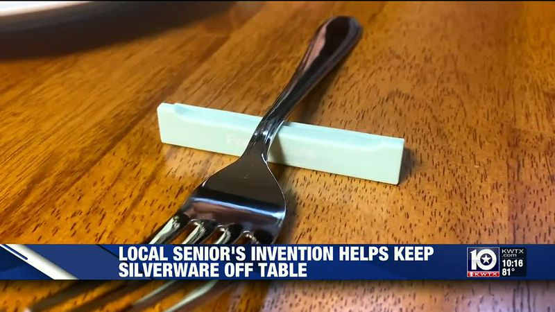 Device protects silverware at restaurants