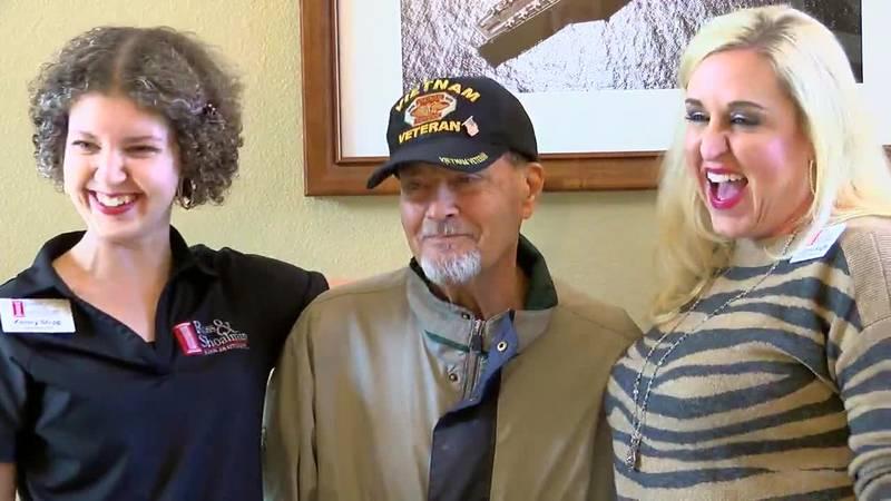 Vietnam veteran gets more than he asked for after angel tree plea KLTV