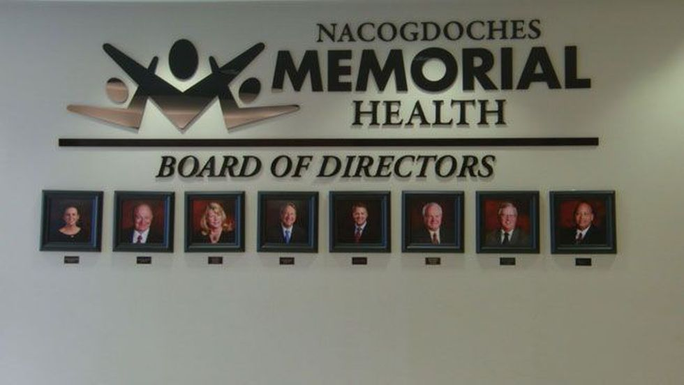 Hospital board president Lisa King described Street as 'a visionary', but the board was looking...