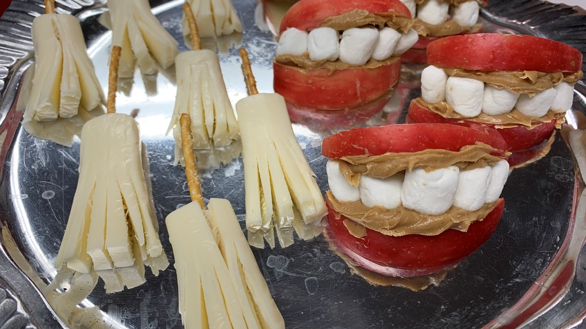 On National Food Day, we're putting together some fun and easy snacks for your Halloween...