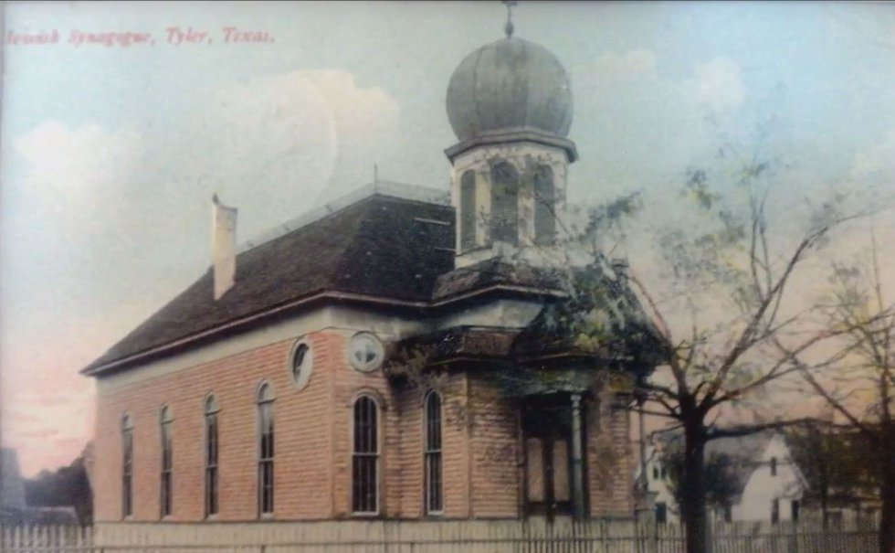 In 1889, Beth El's first Temple was constructed at University and College near downtown Tyler....