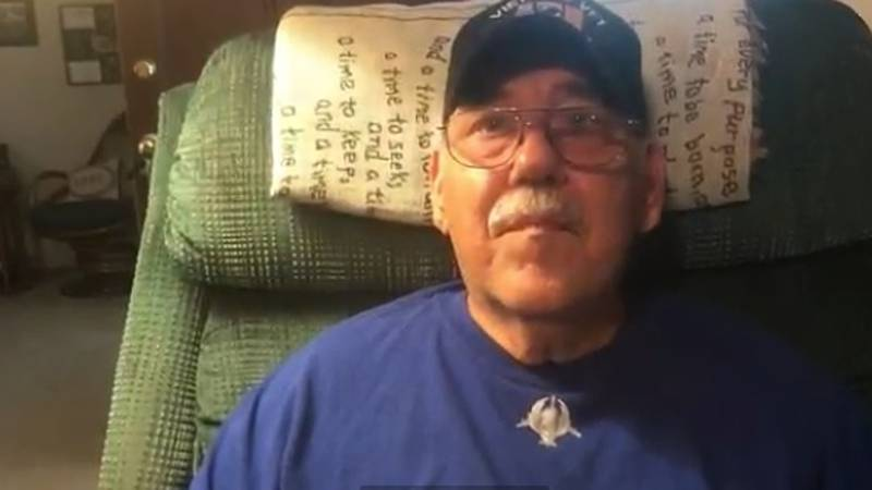 Veteran homeless after contractor takes insurance money, leaves
