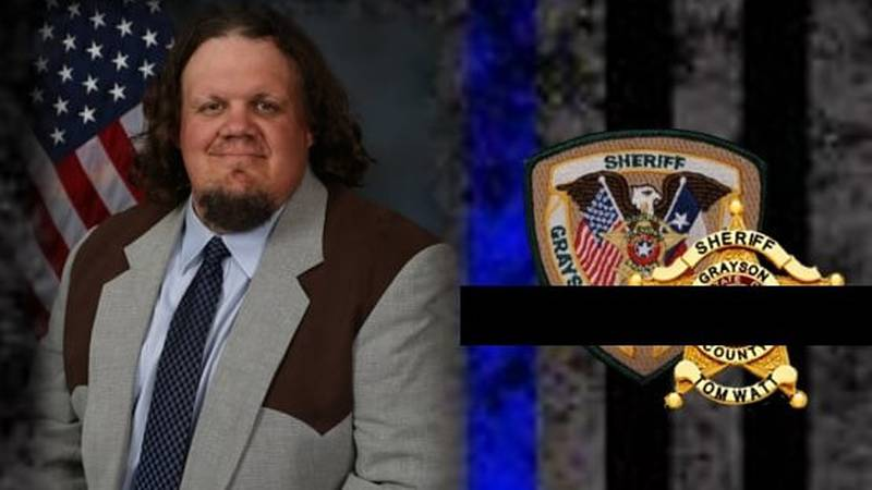Investigator Dusty Wainscott collapsed and died after apprehending two suspects in a Sherman...