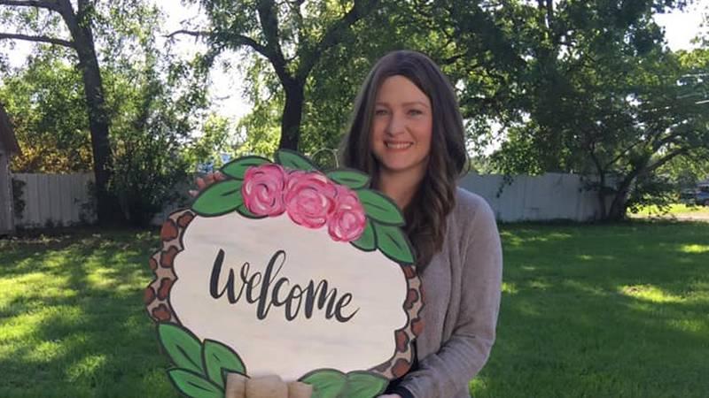 Crockett ISD teacher Katie Johnston