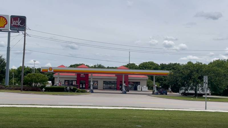Police said the woman called 911 around 12:20 a.m. from the Shell convenience store at the...