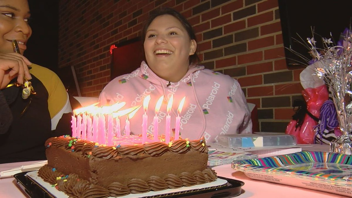 Madison, 16, is surprised with a party for her sweet sixteen by East Texas adoption advocates.