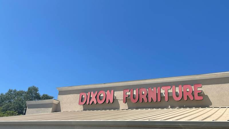 Dixon Furniture said COVID-19 has created some challenges for their store.