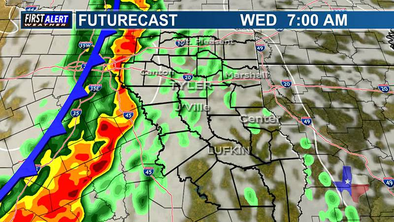 Sunday Evening Weather At Your Fingertips
