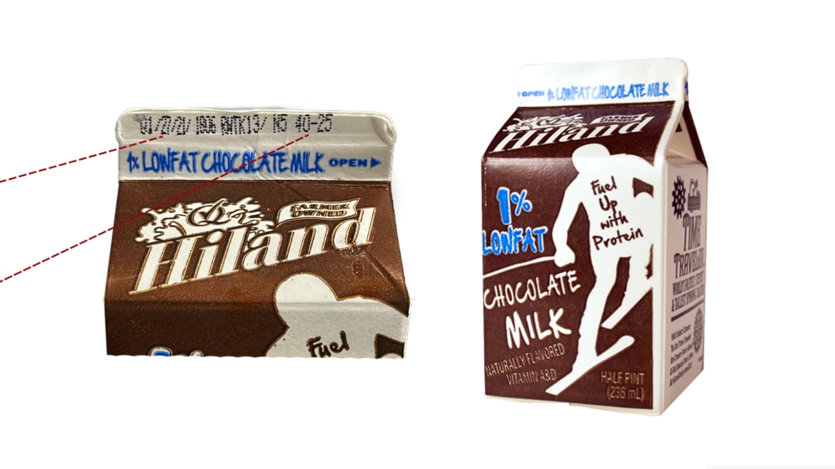 Hiland Dairy is announcing a recall of half-pint 1% low fat chocolate milk that was distributed...
