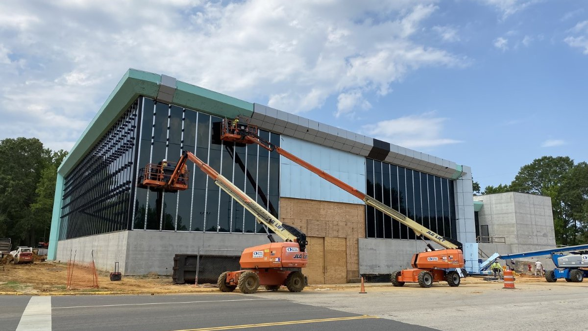 The 45,000 sq. ft. basketball facility will have a full court and a half court for practice,...