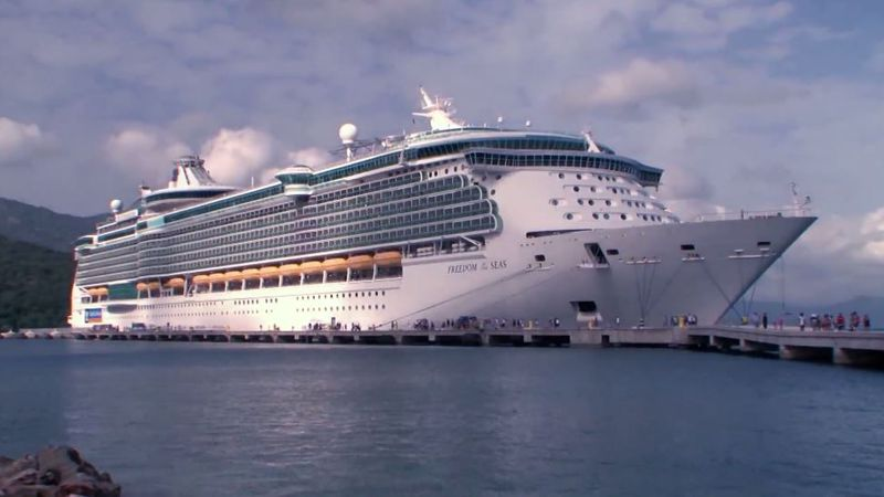 Royal Caribbean plans to have 12 ships operating worldwide by the end of August. Its first U.S....