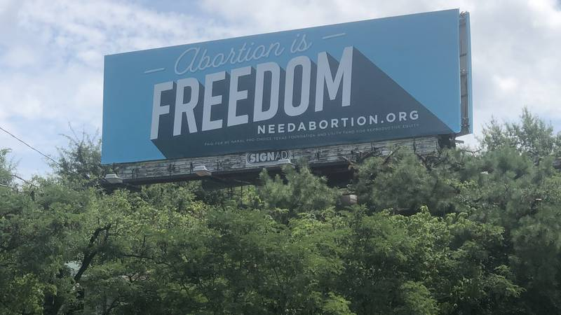 Two non-profits place pro-choice billboards in East Texas