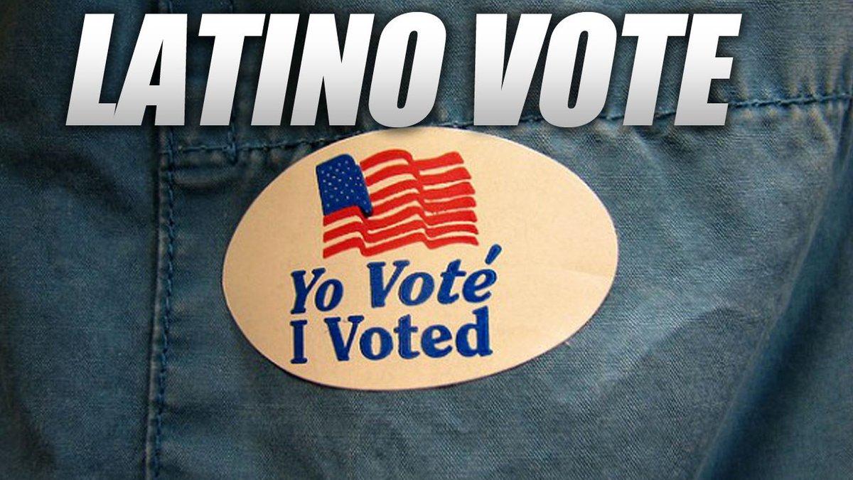 Hispanic vote logo.
