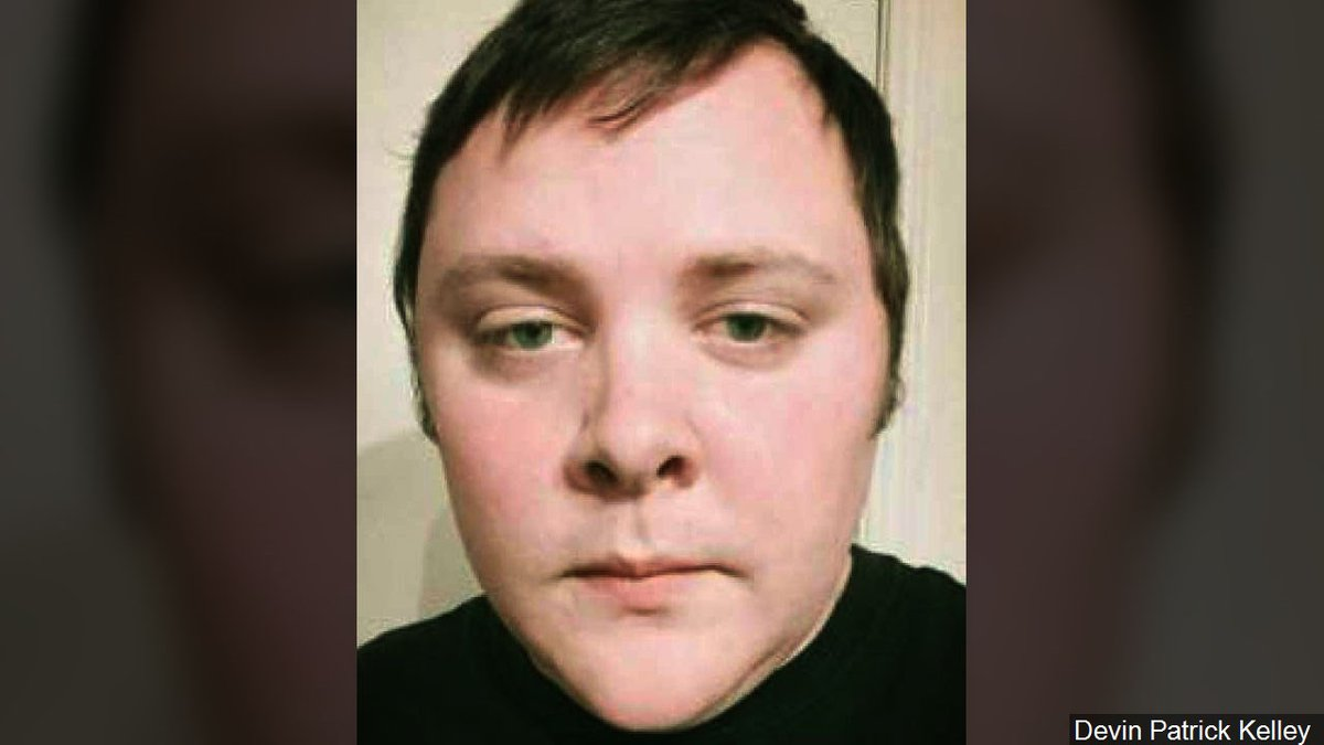 Devin Patrick Kelley: Suspected gunman in Mass Shooting at First Baptist Church of Sutherland...
