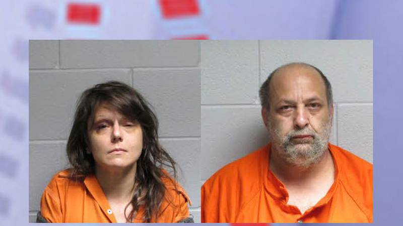 Pictured are Joanna Lang (left) and Michael Sikorski. (Source: Polk County Sheriff's Office)
