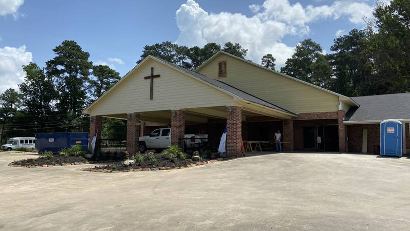 WebXtra: Chesswood Baptist Church reopening after fire
