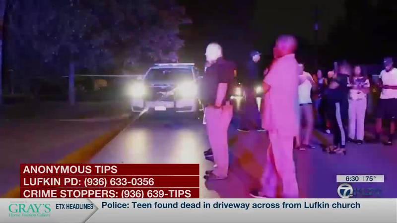 Police: Teen found dead in driveway across from Lufkin church