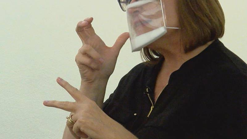Face masks are meant to help prevent the spread of COVID-19, but for the deaf and hard of...