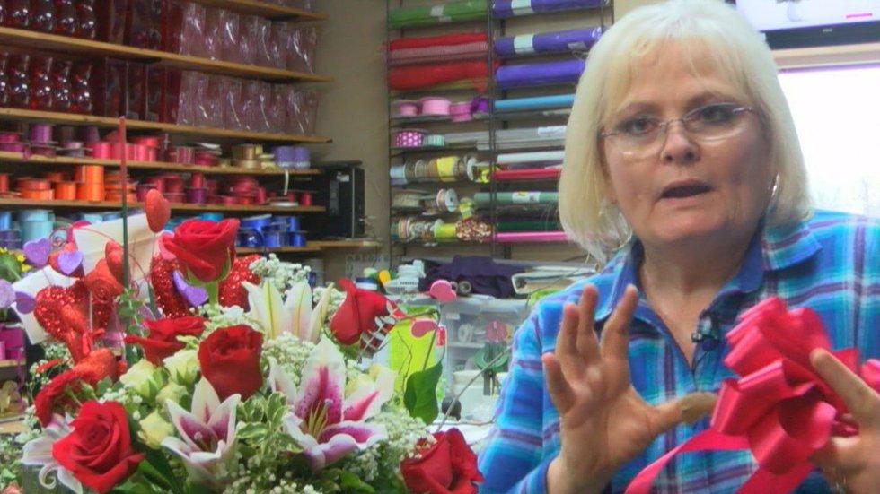 Cindy Maddox, a floral designer, has seen flower arranging evolve. Free flowing arrangements...