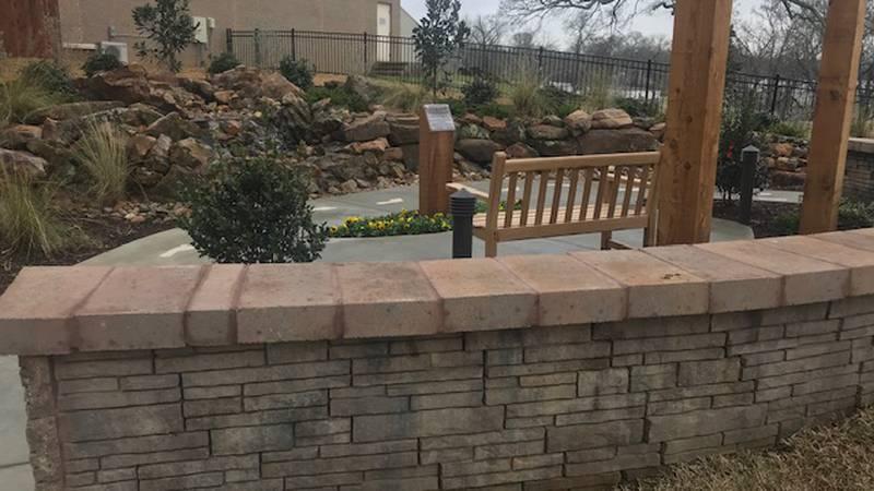 """The K.E. """"Kenny"""" Ponder Prayer Garden at CHRISTUS Good Shepherd Medical Center in Marshall...."""
