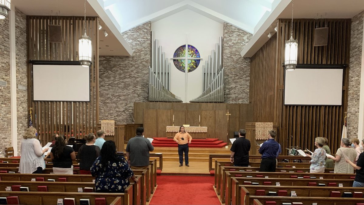 Stone Fort Chorale meets every Tuesday at First United Methodist Church.