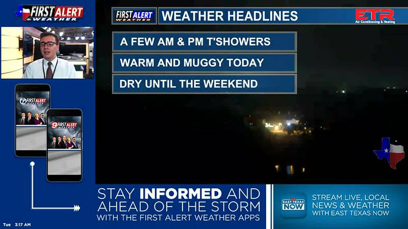 Tuesday Morning Weather At Your Fingertips 6-8-21