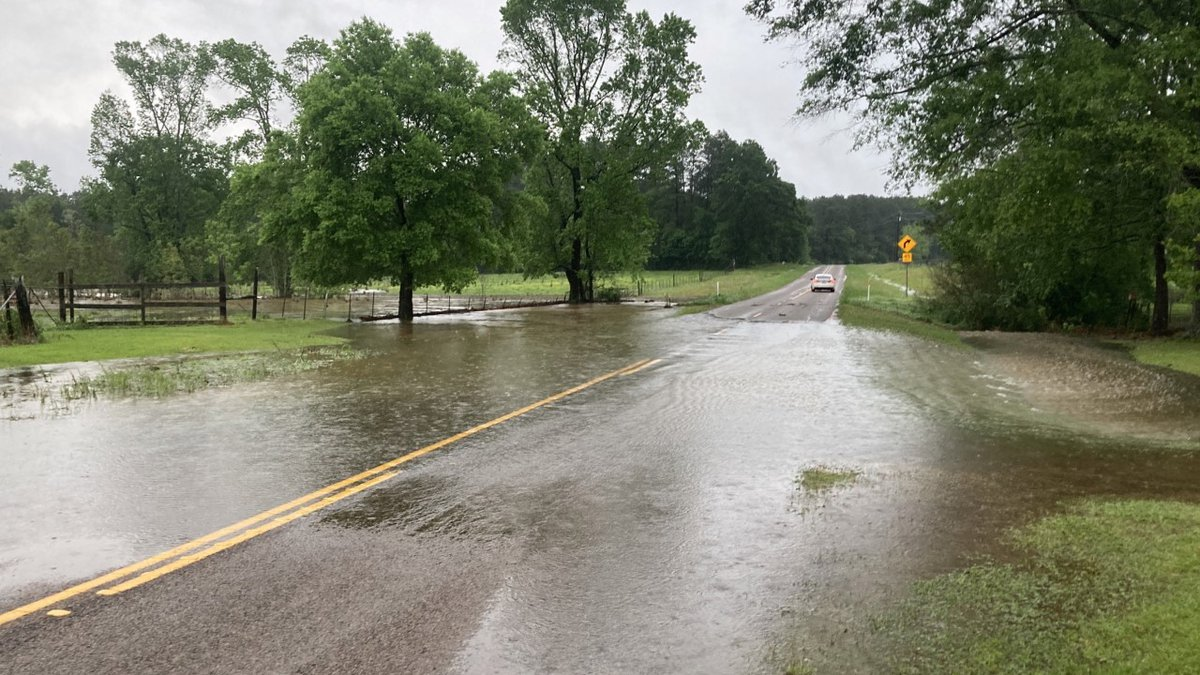 This is on FM 1277 north of State Highway 103 in San Augustine County.