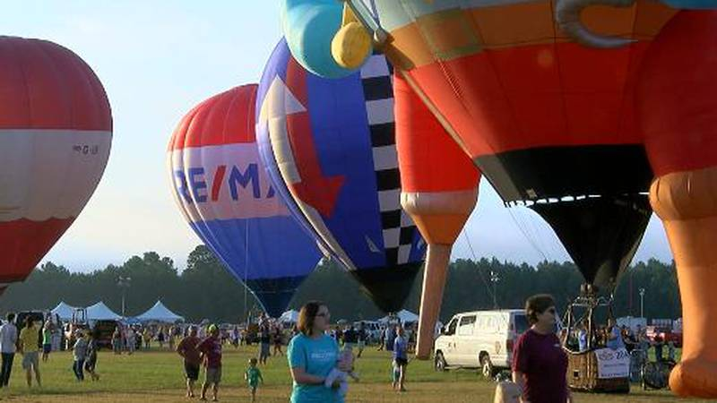 Great Texas Balloon Race wraps up with only one flight, but record breaking attendance.