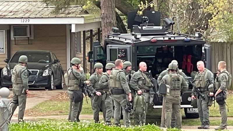 Law officers went to a residence in the 1200 block of Olwen Drive in Bossier City the evening...