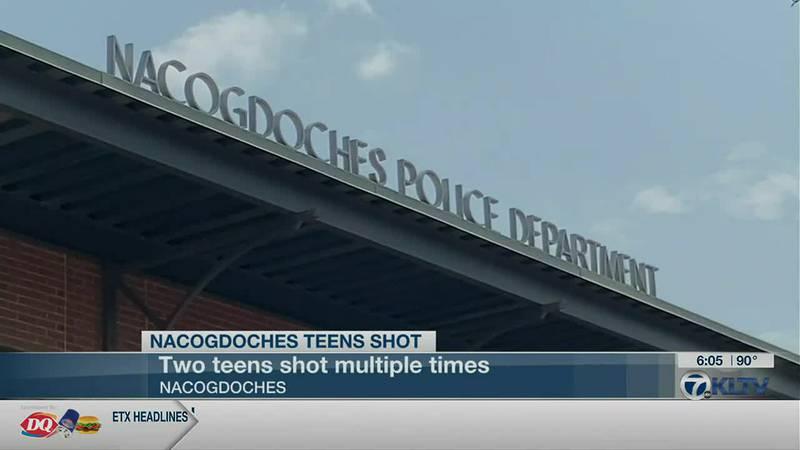 Nacogdoches Teens Shot
